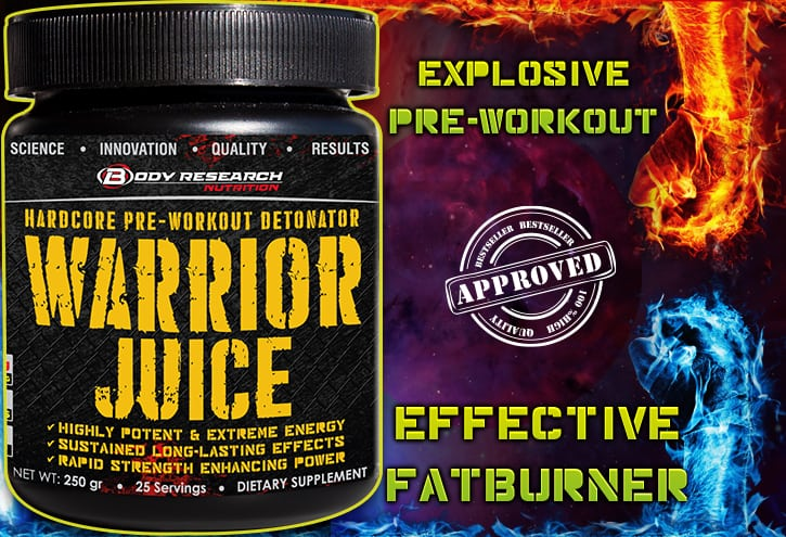 Warrior Juice home