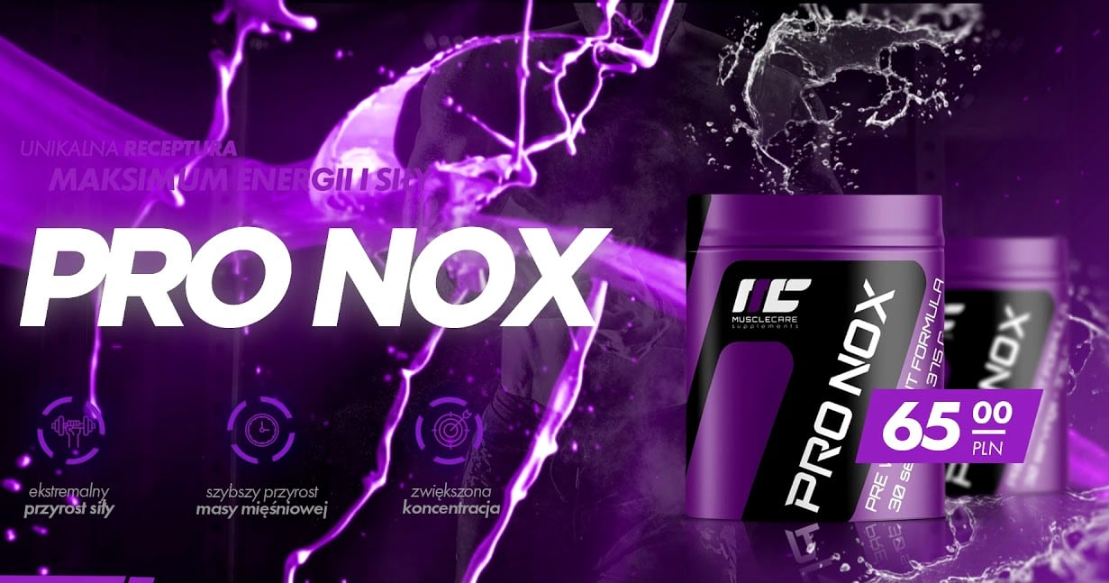 Muscle Care PRO NOX banner