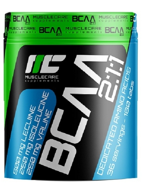Muscle Care BCAA 2:1:1 180 tabs
