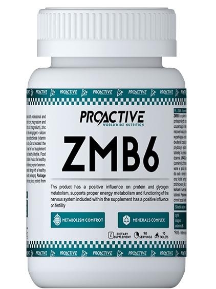ProActive ZMB6 - Цинк, Магнезий и Витамин B6