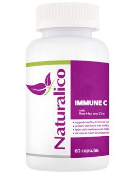 NATURALICO IMMUNE C - витамин C, цинк и екстракт от шипка