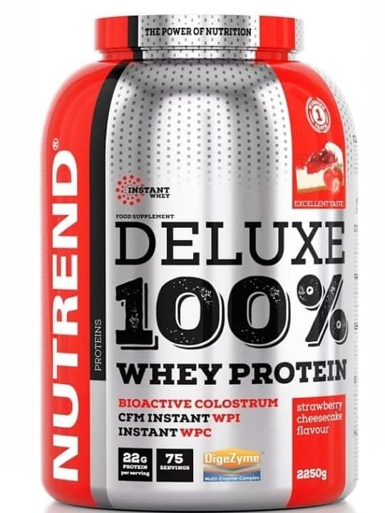 NUTREND DELUXE 100% WHEY - сypoвaтъчeн пpoтeин ĸoнцeнтpaт + изoлaт