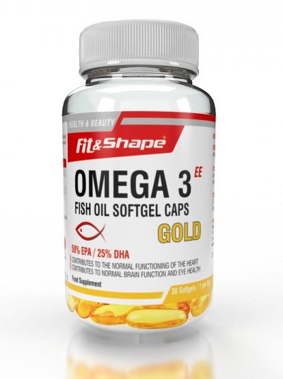 Fit & Shape Omega 3 Gold