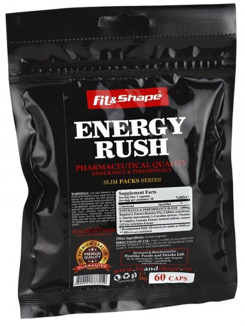 FIT & SHAPE ENERGY RUSH - МОЩЕН ЕНЕРГИТИК