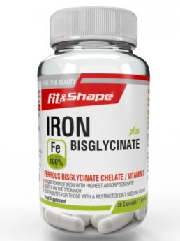 Fit & Shape Iron Bisglycinate Plus
