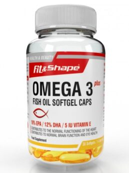 Fit & Shape Omega 3 plus