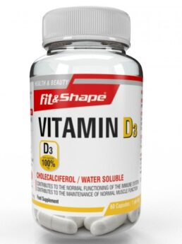 Fit & Shape Vitamin D3