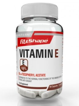 Fit & Shape Vitamin E - Витамин Е