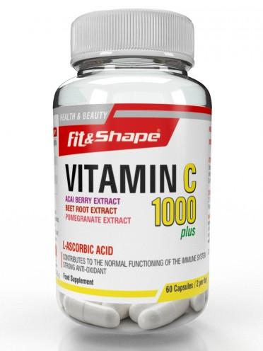 Витамин С 1000 + Акай, Червено цвекло и Нар