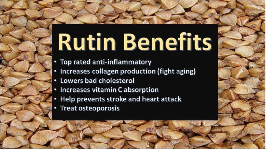 Rutin benefits