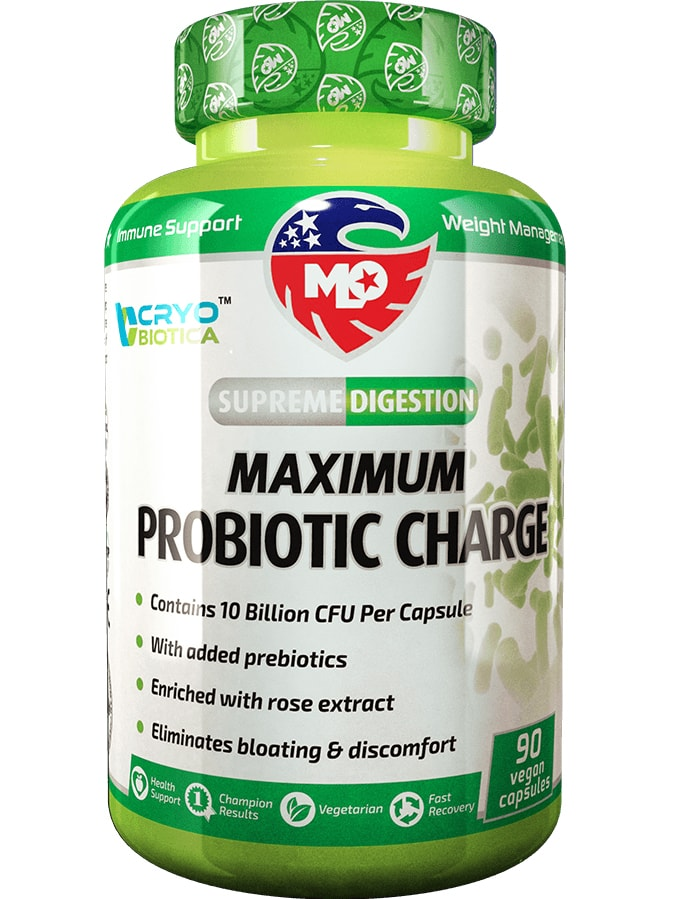 MLO MAXIMUM PROBIOTIC CHARGE - пробиотици, пребиотици, антиоксиданти